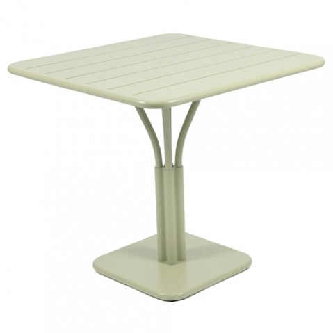Luxembourg Table carree Design Fermob Tilleul