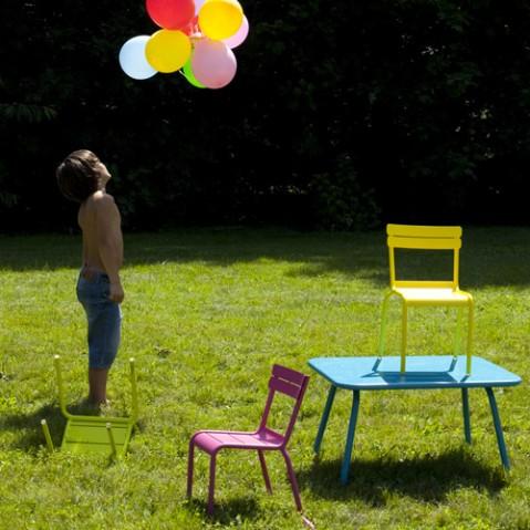 table enfant luxembourg kid fermob tilleul