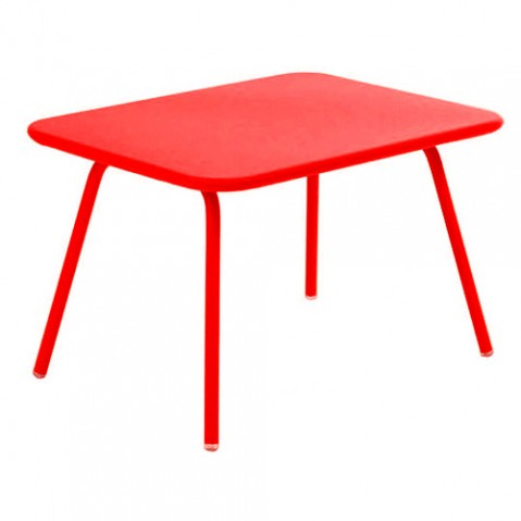 table enfant luxembourg kid fermob coquelicot