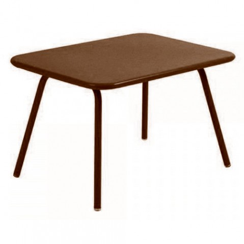 table enfant luxembourg kid fermob rouille
