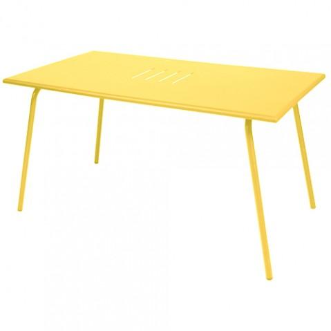table monceau fermob miel