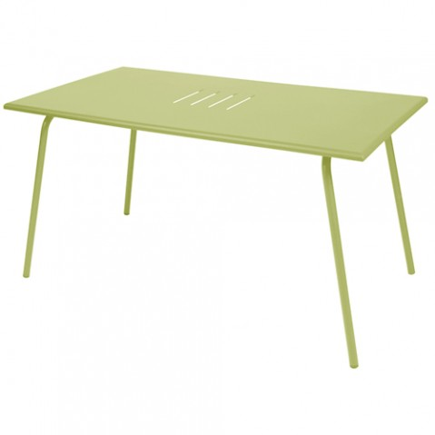 table monceau fermob tilleul