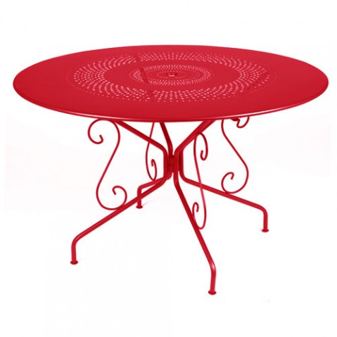 table montmartre fermob coquelicot