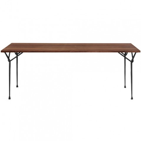table officina 200 magis noir noyer