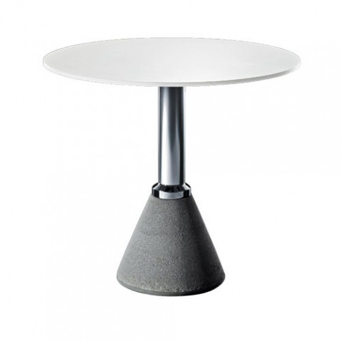 Table one magis plateau rond blanc