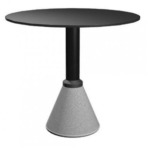 Table one magis plateau rond noir