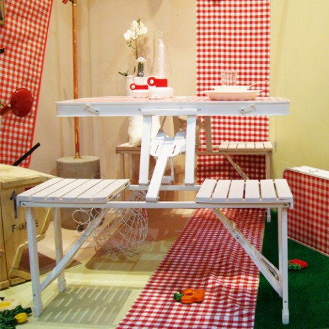 table valise pique nique festival seletti