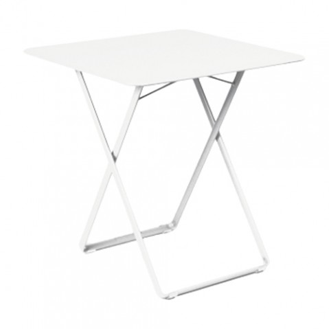 table plein air fermob blanc