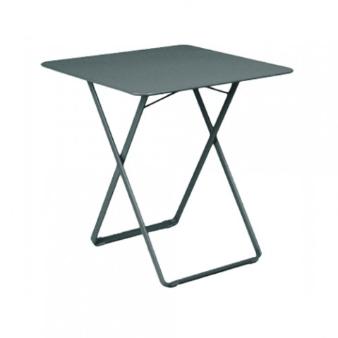 table plein air fermob gris orage