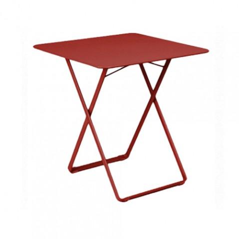 table plein air fermob piment