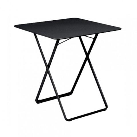table plein air fermob noir