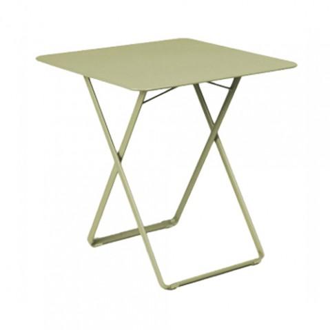 table plein air fermob tilleul