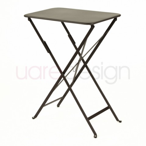 table bistro 37 fermob rouille