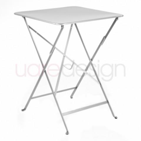 bistro fermob table 57 design gris métal