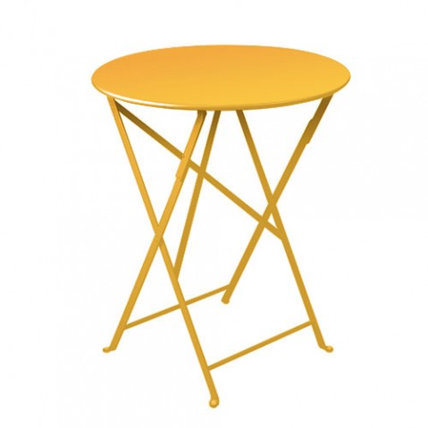 table ronde bistro 60 fermob miel