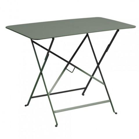 Table pliante Bistro 97x57 Fermob romarin