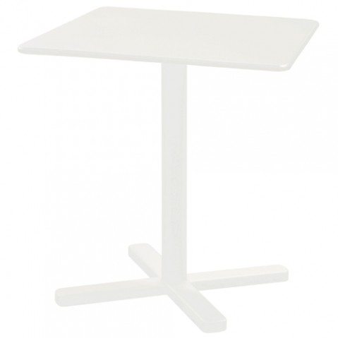 table pliante darwin emu blanc