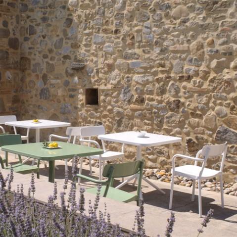 table pliante grace 70 emu blanc
