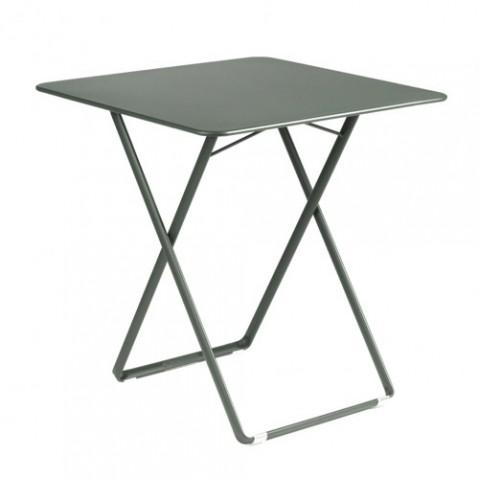 Table pliante 71x71cm Plein Air Fermob romarin