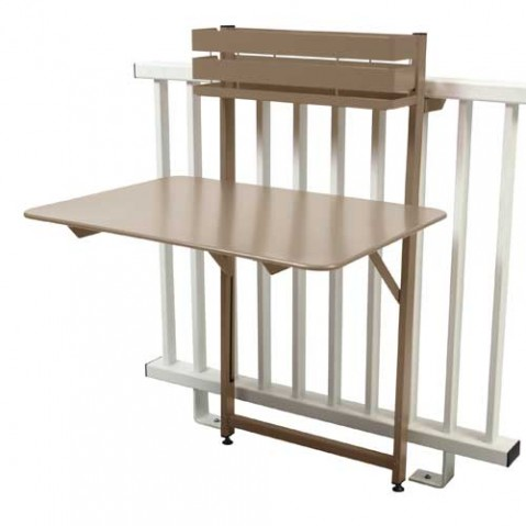 table pliante balcon bistro fermob muscade
