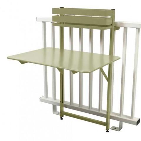 table pliante balcon bistro fermob tilleul