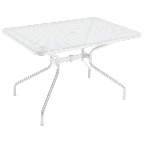 table rectangulaire cambi 120 emu blanc
