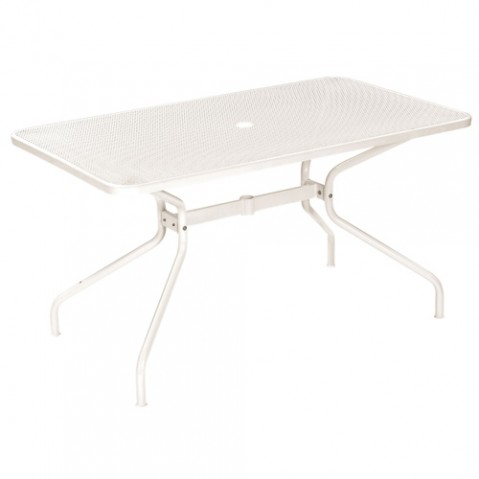 table rectangulaire cambi 140 emu blanc