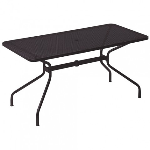 table rectangulaire cambi 140 emu noir