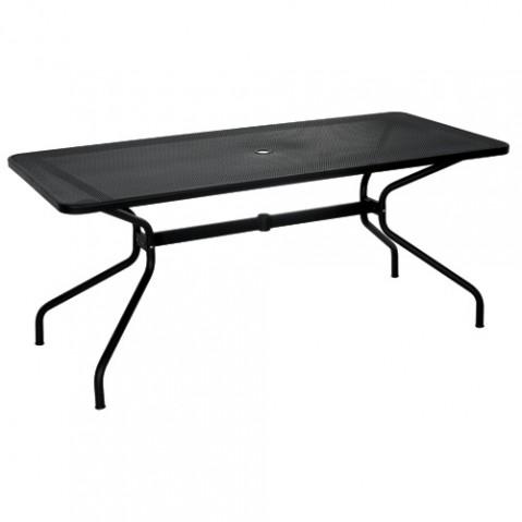 table rectangulaire cambi 180 emu noir