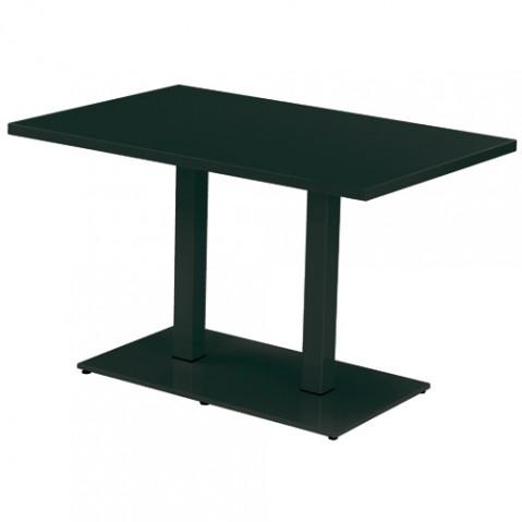 table rectangulaire round emu noir