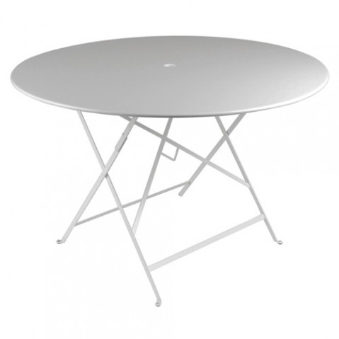 table ronde 117 fermob gris metal