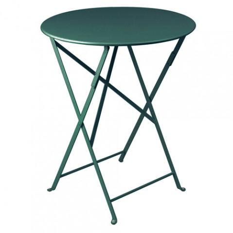 table ronde bistro 60 fermob cedre