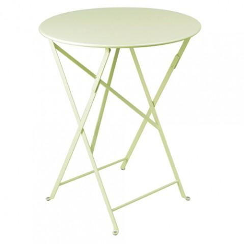 table ronde bistro 60 fermob tilleul