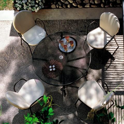 table ronde cambi 120 emu blanc