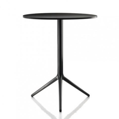 table ronde central magis verni noir