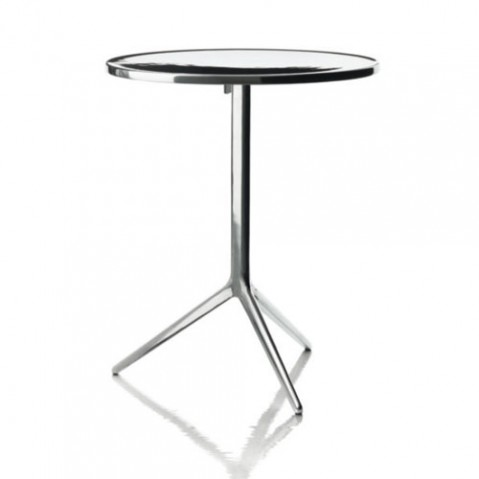 table ronde central magis aluminium poli