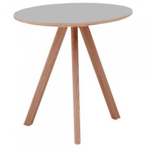 table ronde copenhague cph 20 hay gris