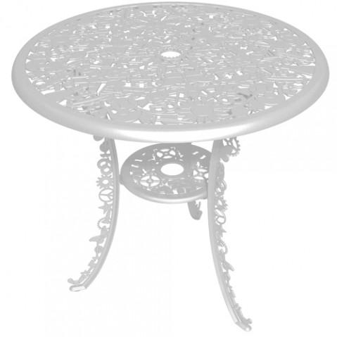 table ronde industry garden seletti blanc