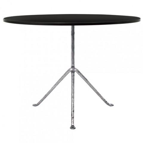 table ronde officina 100 magis galvanise noir