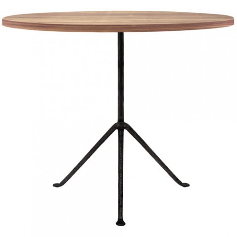 table ronde officina 80 magis noir frene