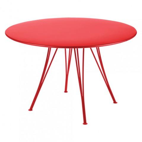 table rendez vous fermob coquelicot