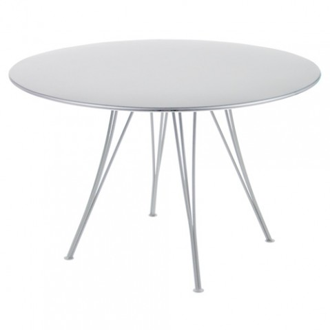 table rendez vous fermob gris metal