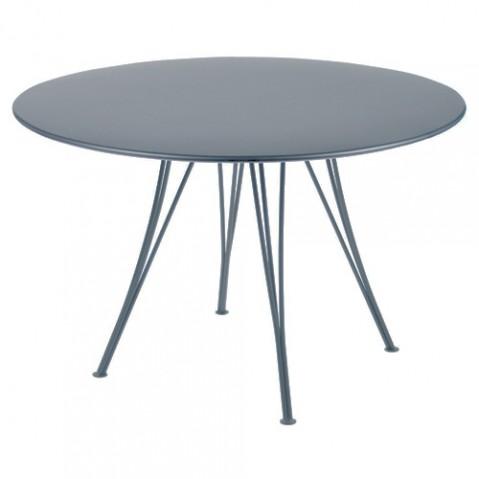 table rendez vous fermob gris orage