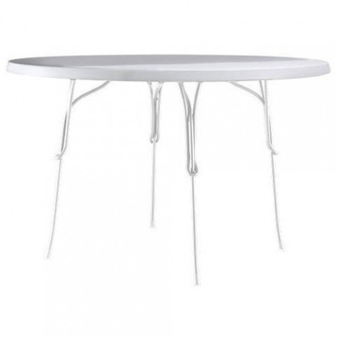 table ronde 120 vigna magis blanc