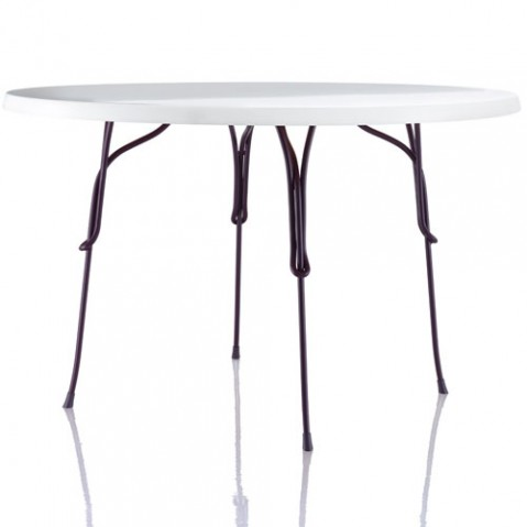 table ronde 120 vigna magis violet