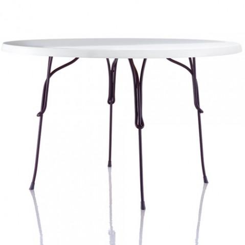 table ronde 120 vigna magis violet