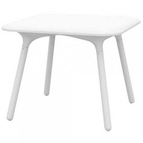 table carree sloo vondom blanc