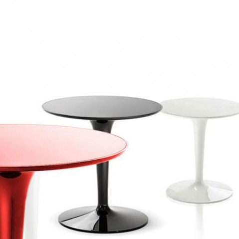 table tip top mono kartell blanc