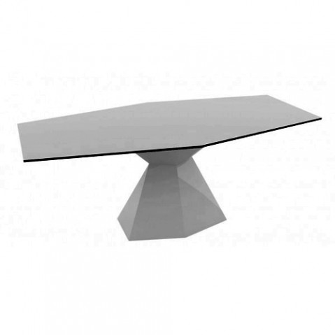 table vertex vondom gris