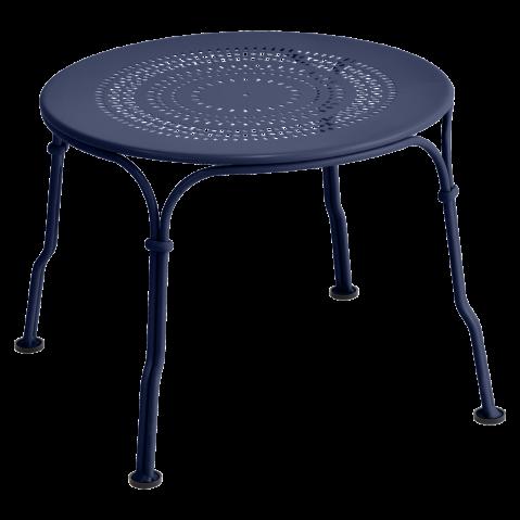 TABLE BASSE 1900 BLEU ABYSSE de FERMOB